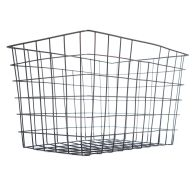 See more information about the Rectangle Wire Metal Basket (Black)