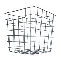 See more information about the Metal Basket With Handles (Black)