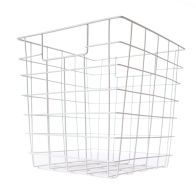 See more information about the Metal Basket With Handles (White)