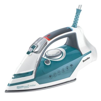 Image of Breville Power Steam Iron 2.4KW - Blue White