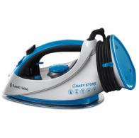 See more information about the Russell Hobbs Easy Wrap And Clip Iron 2.4KW - Blue White