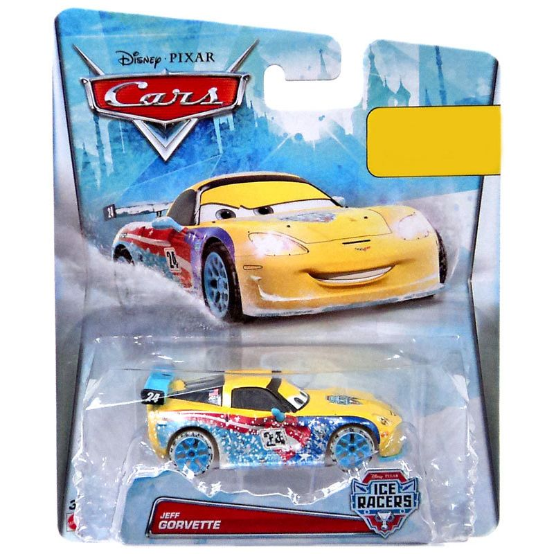 Disney Pixar Cars Ice Racers - Jeff Gorvette