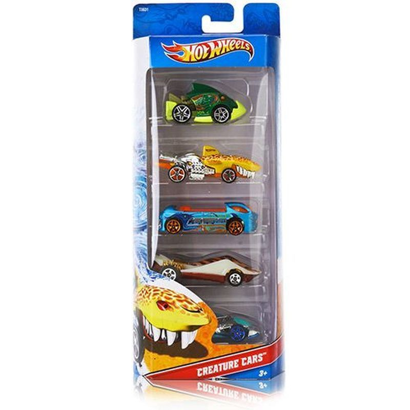 Hot Wheels 5 Pack - Creature Cars