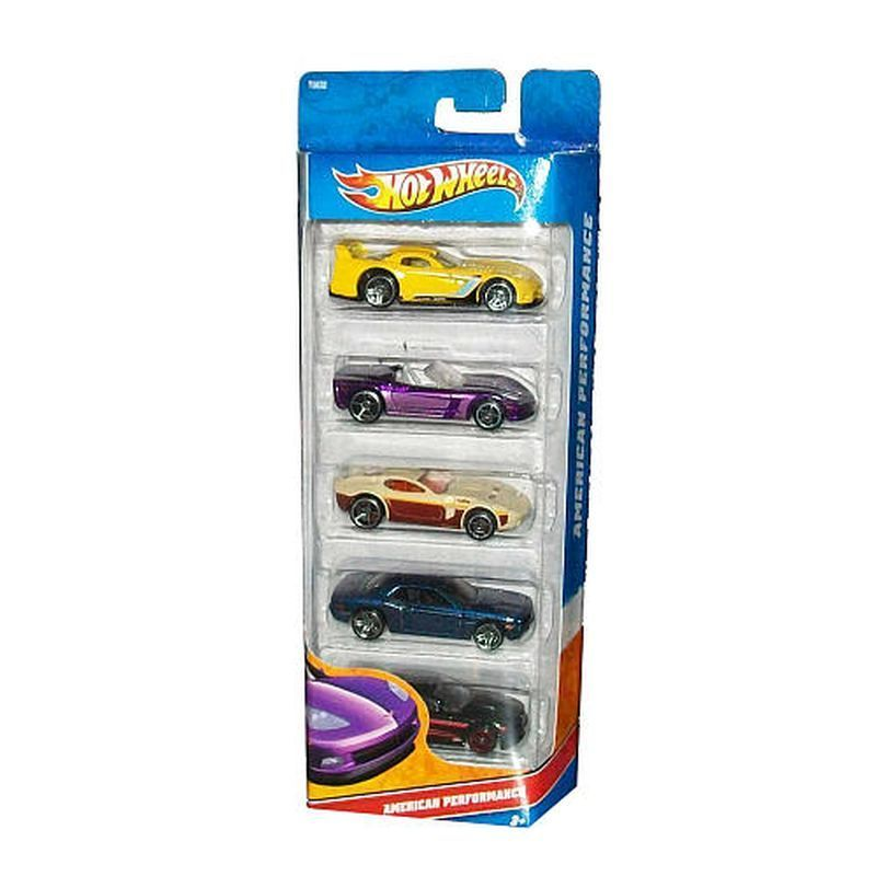 Hot Wheels 5 Pack - American Performance