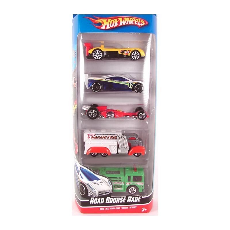 Hot Wheels 5 Pack - Road Course Race