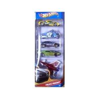 See more information about the Hot Wheels 5 Pack - Police Pursuit