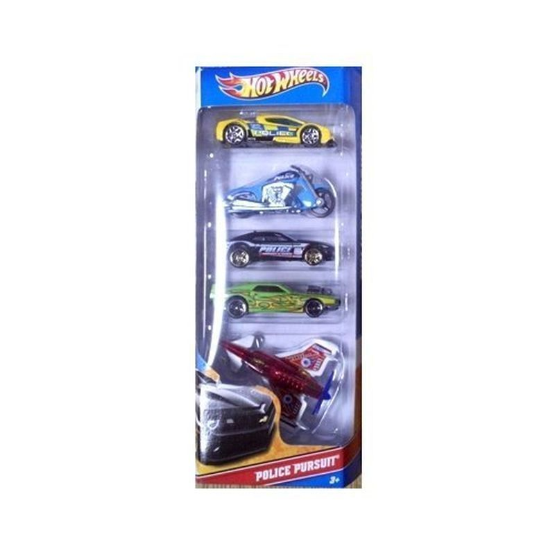 Hot Wheels 5 Pack - Police Pursuit