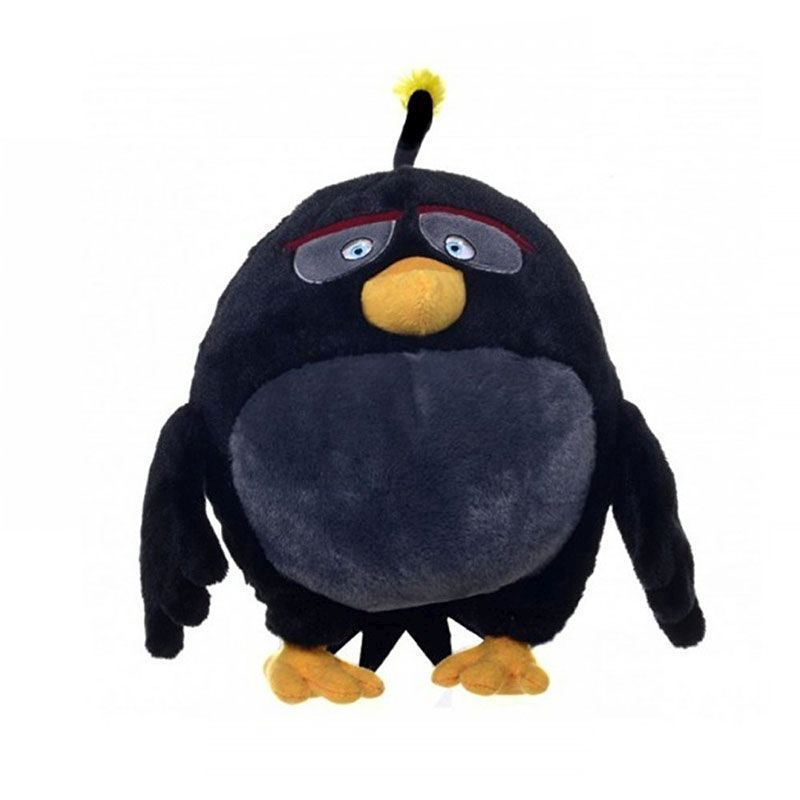 Angry Birds Plush Keychain Bomb