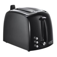 See more information about the Russell Hobbs Textures 2 Slice Toaster - Black