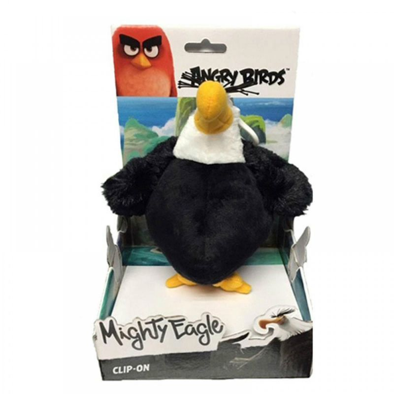 Angry Birds Plush Keychain Eagle