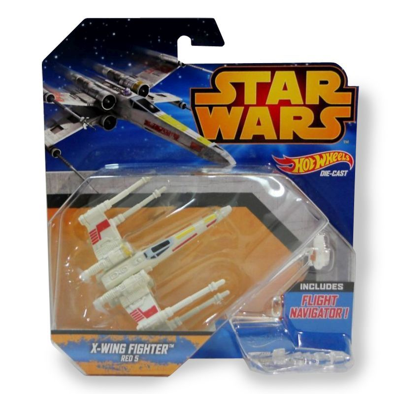 Hot Wheels Star Wars - X-Wing Red 3