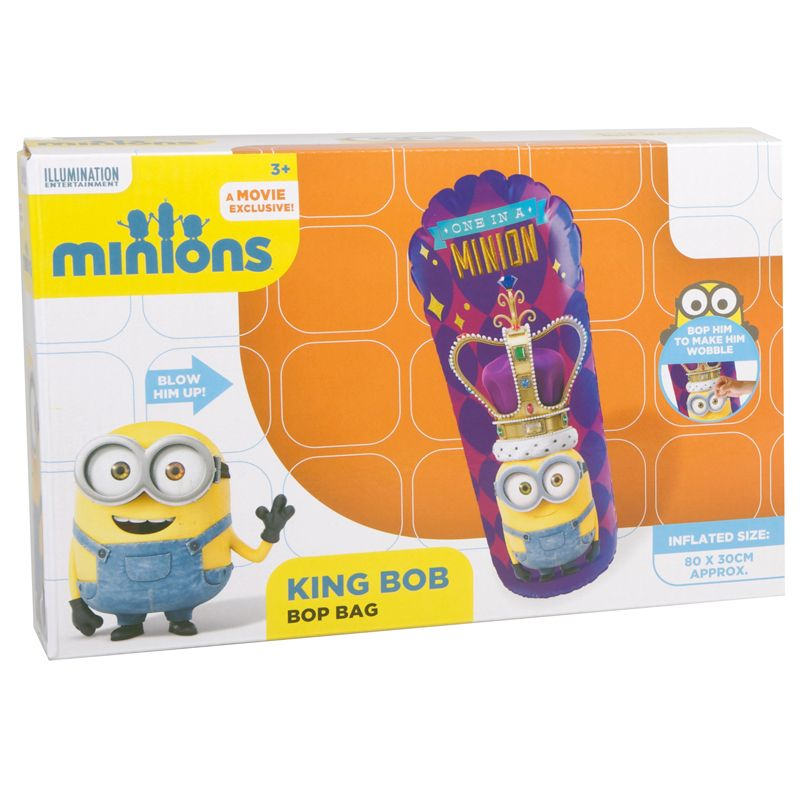 Despicable Me Bop Bag - King Bob