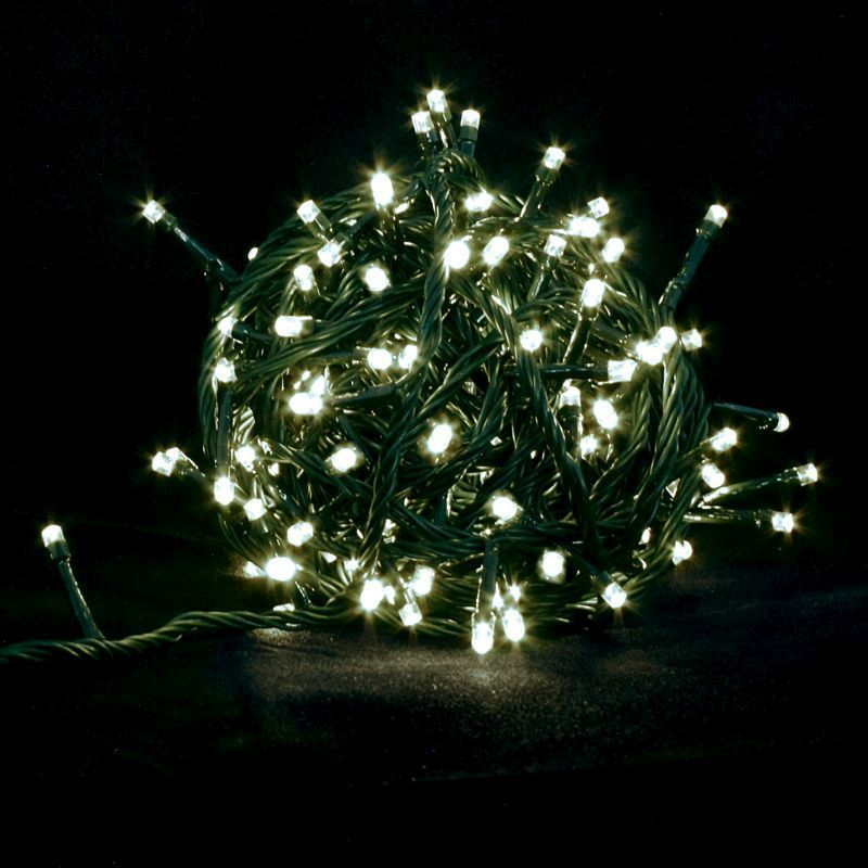 600 zaplites white decorative christmas lights