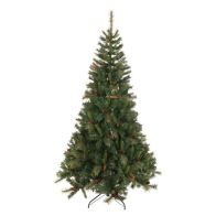 See more information about the 210cm (6 Foot 10 inch) Green Denmark 1050 Tips Pine Christmas Tree