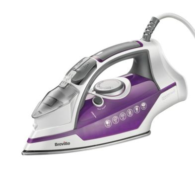 Image of Breville Power Steam Sure Fill Iron 2.4KW - Purple White