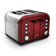 See more information about the Morphy Richards Accents 4 Slice Toaster - Red