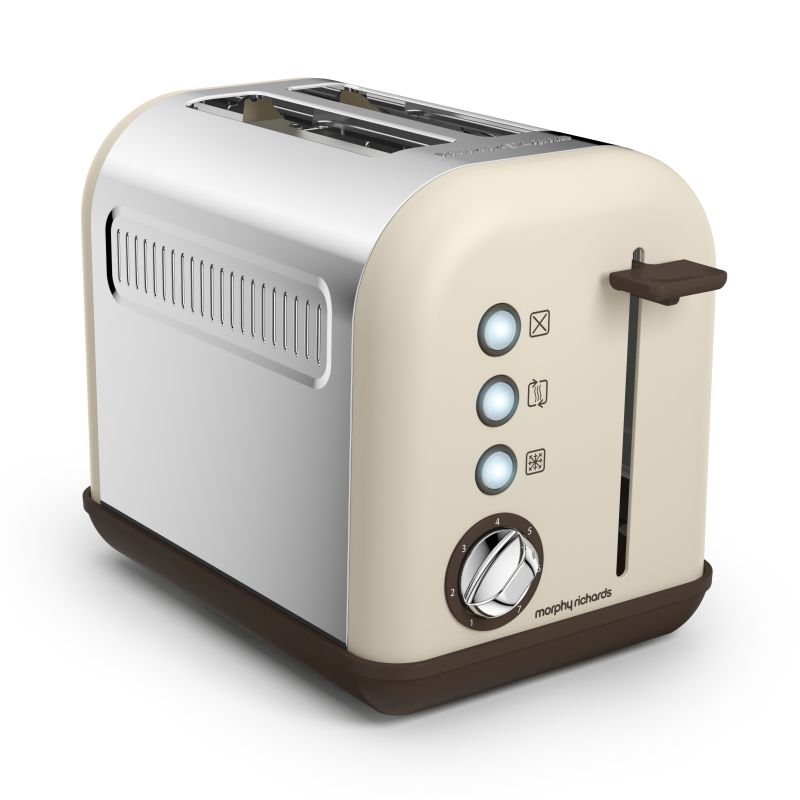 morphy richards accents 2 slice toaster sand buy. Black Bedroom Furniture Sets. Home Design Ideas