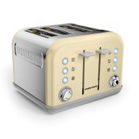 See more information about the Morphy Richards Accents 4 Slice Toaster - Cream