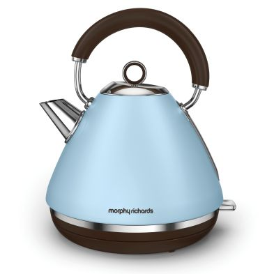 Image of Morphy Richards 1.5 KW Pyramid Premium Kettle 3KW - Azure
