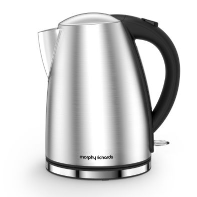 Image of Morphy Richards 1.7 Litre New Accents Jug Kettle 3KW - Brushed Steel