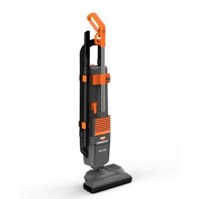 Image of Vax Commercial Upright Twin Motor Vacuum Cleaner 800w - Grey Orange