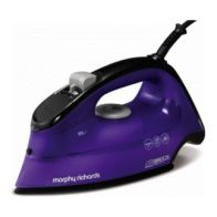 See more information about the Morphy Richards Breeze Steam Iron 2.6KW Purple Black