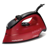 See more information about the Morphy Richards Breeze Steam Iron 2.6KW - Red Black