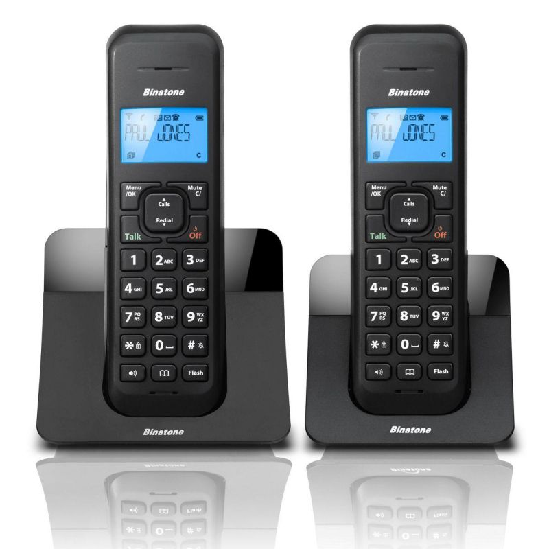 Binatone Luna Twin Digital Cordless Telephone With Answer Machine