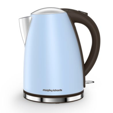 Image of Morphy Richards 1.7 Litre New Accents Jug Kettle 3KW - Azure