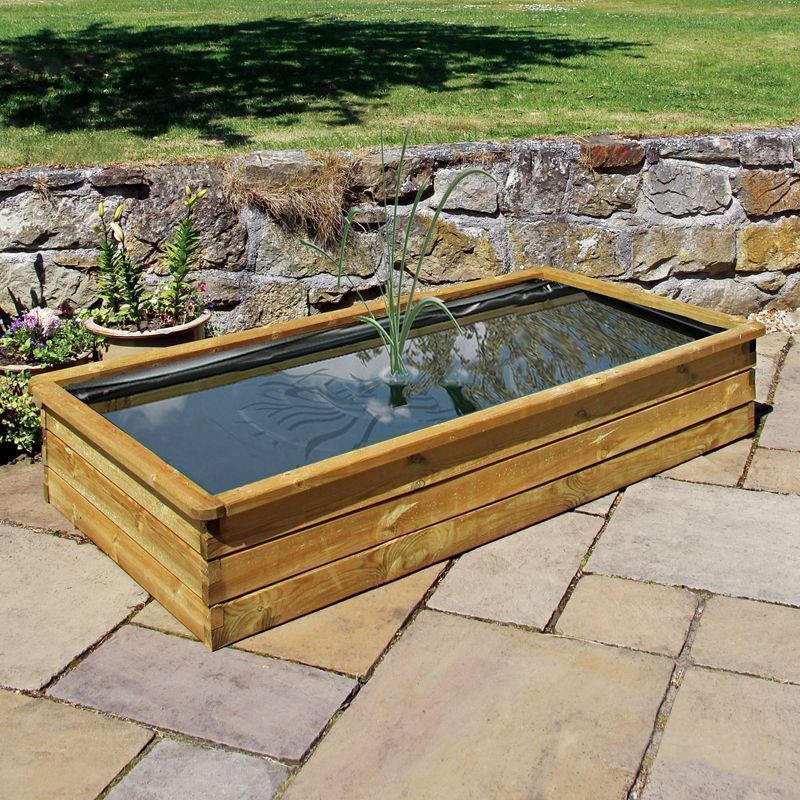 Wooden Aquatic Planter