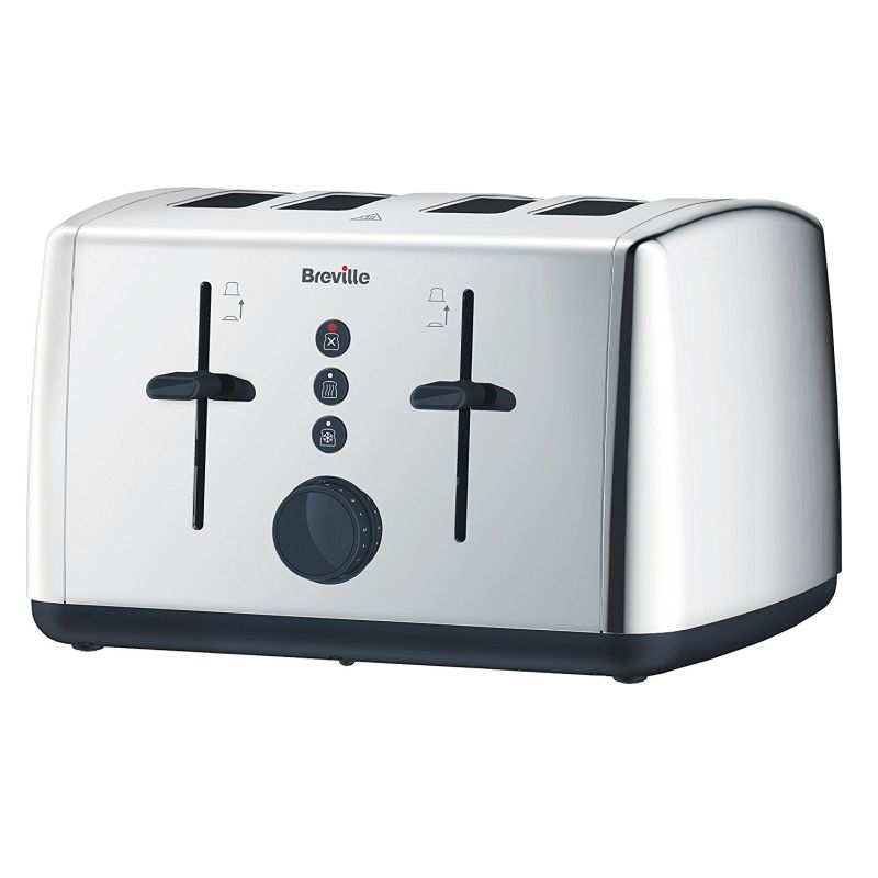 Breville Vista 4 Slice Toaster - Stainless Steel