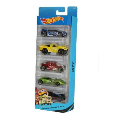 Hot Wheels 5 Pack  City