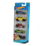 See more information about the Hot Wheels 5 Pack - City