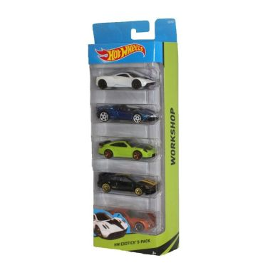 Hot Wheels 5 Pack  Work Shop