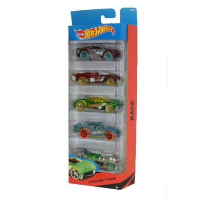 Hot Wheels 5 Pack  Race