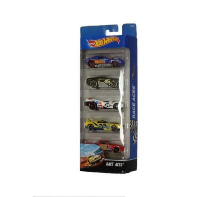 Hot Wheels 5 Pack  Race Aces