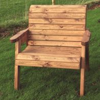 See more information about the Large Scandinavian Redwood Extra Wide Garden Chair