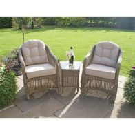See more information about the Winchester 3 Piece Garden Lounge Set Brown