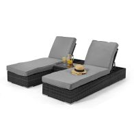 See more information about the Orlando Garden Sunlounger Grey
