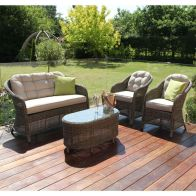 See more information about the Maze Rattan Winchester Rounded High Back Sofa Set