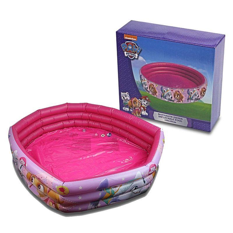 Paw Patrol Inflatable Pool Pink