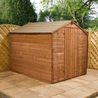 See more information about the Mercia 8 x 6 Shiplap Apex Shed - Windowless