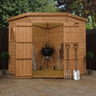 See more information about the Mercia 7 x 7 Shiplap Corner Shed