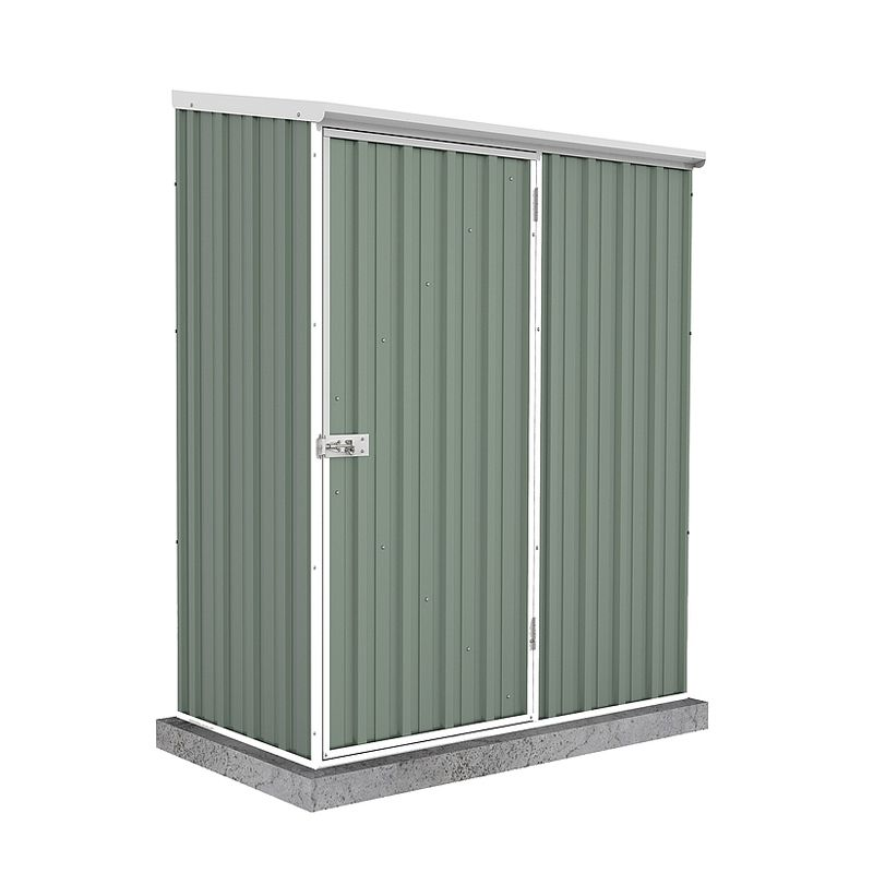 Mercia 5 x 3 Absco Pent Shed - Pale Eucalyptus
