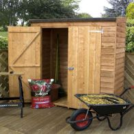See more information about the Mercia 6 x 3 Overlap Pent Tool Shed - Windowless