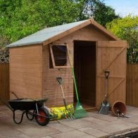 See more information about the Mercia 6 x 8 Premium Shiplap Apex Shed