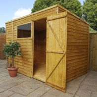 See more information about the Mercia 10 x 6 Overlap Pent Shed
