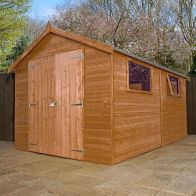 See more information about the Mercia 12 x 8 Premium Double Door Shiplap Apex Shed