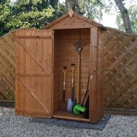 See more information about the Mercia 4 x 2 Shiplap Apex Tool Shed - Windowless