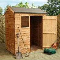 See more information about the Mercia 6 x 4 Overlap Reverse Apex Shed
